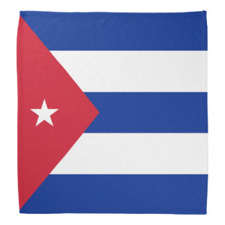 Kuba-Flagge Halstuch
