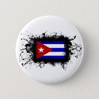 Kuba-Flagge Runder Button 5,1 Cm