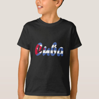 Kuba-Flaggen-T - Shirt