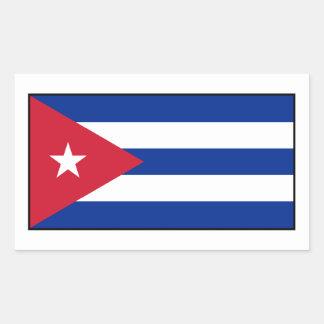 Kuba - kubanische Flagge Sticker