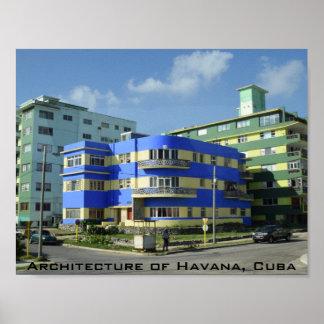Kuba: Kunst-Deko-Architektur Poster