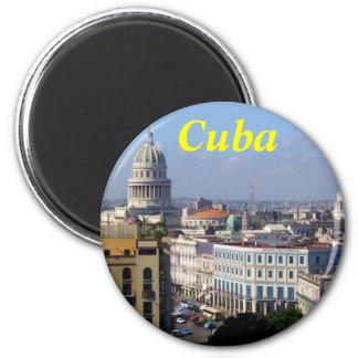 Kuba-Magnet Runder Magnet 5,1 Cm