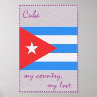 Kuba mein Land meine Liebe Poster