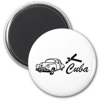 Kuba Runder Magnet 5,1 Cm