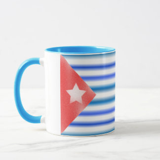Kubanische amerikanische Flaggen Tasse