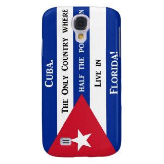 Kubanische Flagge Galaxy S4 Hülle
