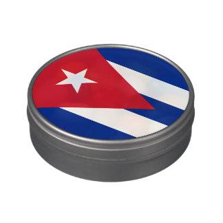 Kubanische Flagge Süßigkeitenbox