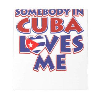 Kubanische Liebe Notizblock