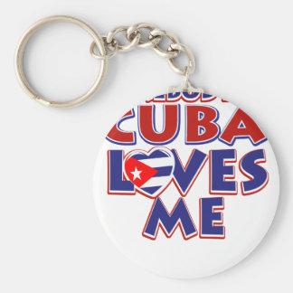 Kubanische Liebe Schlüsselanhänger