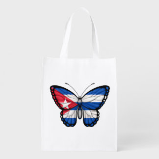 Kubanische Schmetterlings-Flagge Tragetasche