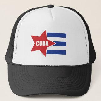 Kubanischer Flaggen-Hut Truckerkappe