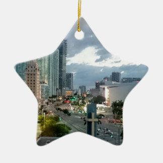 Kubanischer Freiheits-Turm in Miami 2 Keramik Ornament