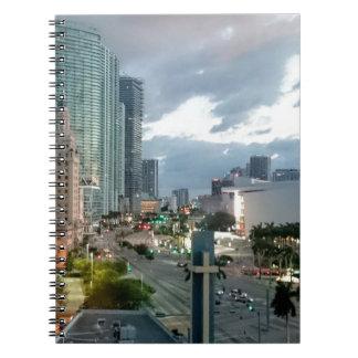 Kubanischer Freiheits-Turm in Miami 2 Notizblock