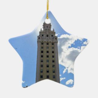 Kubanischer Freiheits-Turm in Miami 4 Keramik Ornament