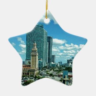 Kubanischer Freiheits-Turm in Miami 5 Keramik Ornament