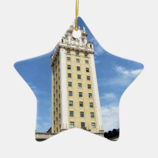 Kubanischer Freiheits-Turm in Miami 6 Keramik Ornament