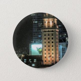 Kubanischer Freiheits-Turm in Miami 7 Runder Button 5,1 Cm