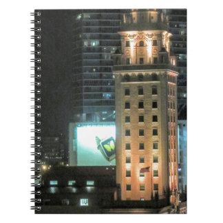 Kubanischer Freiheits-Turm in Miami 7 Spiral Notizblock