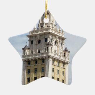 Kubanischer Freiheits-Turm in Miami Keramik Ornament
