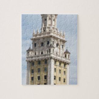 Kubanischer Freiheits-Turm in Miami Puzzle