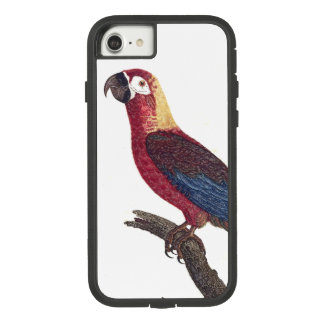 Kubanischer roter Macaw-Papageien-Vogel iPhone 7 Case-Mate Tough Extreme iPhone 8/7 Hülle