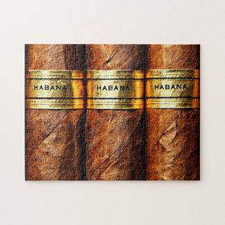 Kubanischer Zigarren Habana Goldvip-Rauch-Verein Puzzle