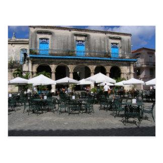 Kubanisches Café Postkarte