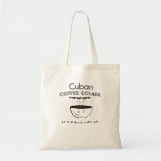 kubanisches colada tragetasche
