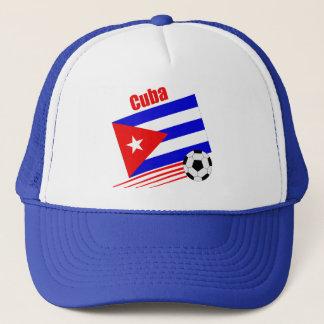 Kubanisches Fußball-Team Truckerkappe