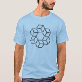 Kubikturbulenz (helle Shirts) T-Shirt