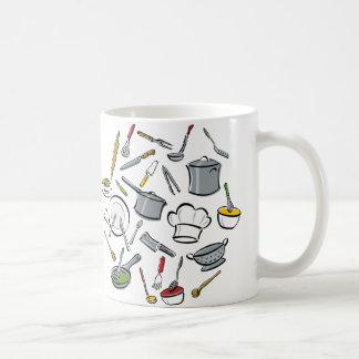 Küche bearbeitet Muster Kaffeetasse