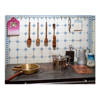 Küche von Kunst nouveau Postkarte