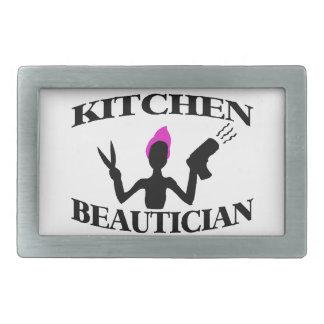 Küchebeautician-zu Hause Stylist Rechteckige Gürtelschnalle