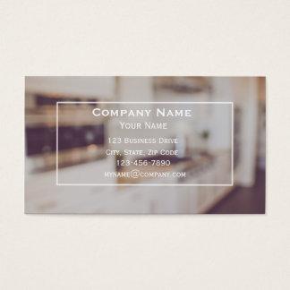 Küchen-Auftragnehmercabinetry-Visitenkarte Visitenkarte