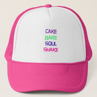 Kuchen backen Soul-Erschütterung Truckerkappe