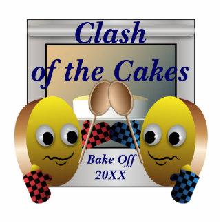 Kuchen-Backen-Wettbewerb Fotostatuen