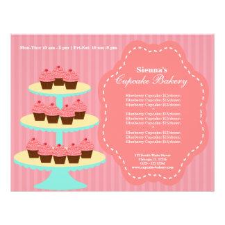Kuchen-Bäckerei Flyer