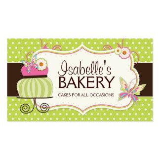 Kuchen-Bäckerei-Visitenkarte Visitenkarten