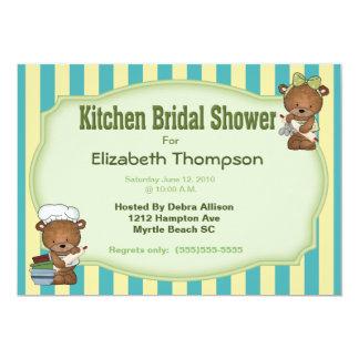 Küchen-Brautparty-    Einladung