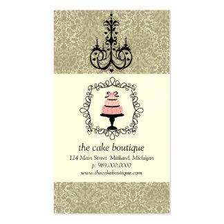 Kuchen-Butikeextravagante Visitenkarten