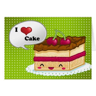 Kuchen der Liebe I Grußkarte