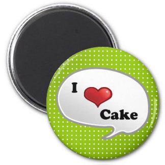 Kuchen der Liebe I Kühlschrankmagnet