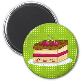 Kuchen der Liebe I Kühlschrankmagnete