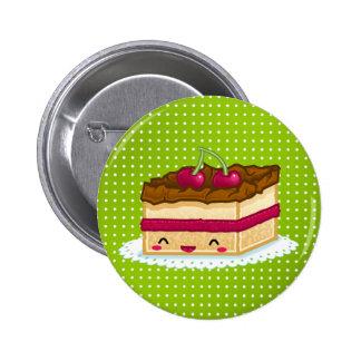 Kuchen der Liebe I Runder Button 5,1 Cm