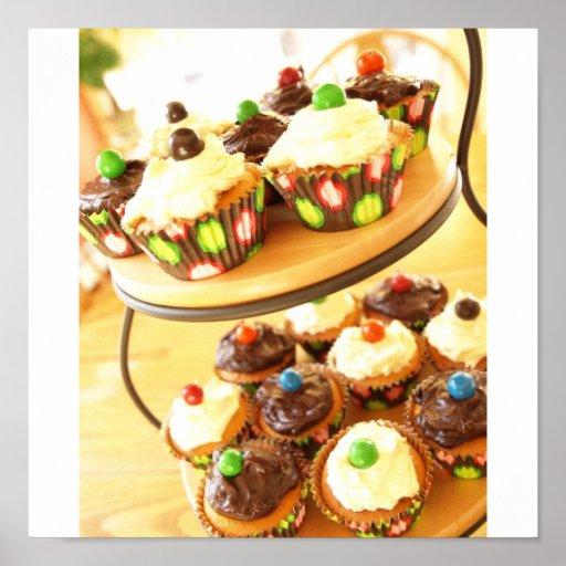 Kuchen-Fotografie Plakat