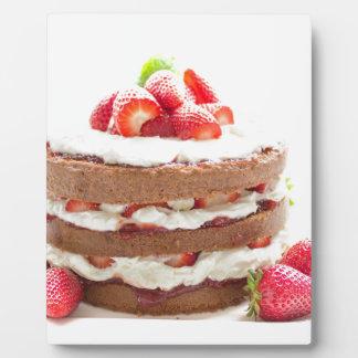 Kuchen Fotoplatte