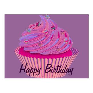 Kuchen-Geburtstag Postkarte