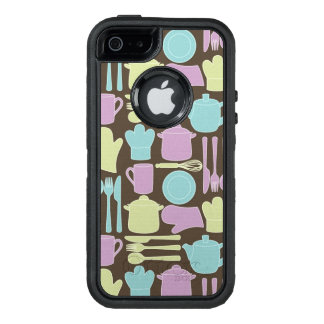 Küchen-Gerät-Muster 2 OtterBox iPhone 5/5s/SE Hülle