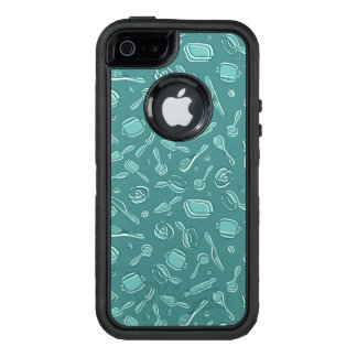 Küchen-Gerät-Muster OtterBox iPhone 5/5s/SE Hülle