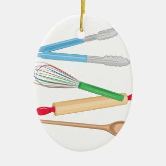 Küchen-Geräte Keramik Ornament